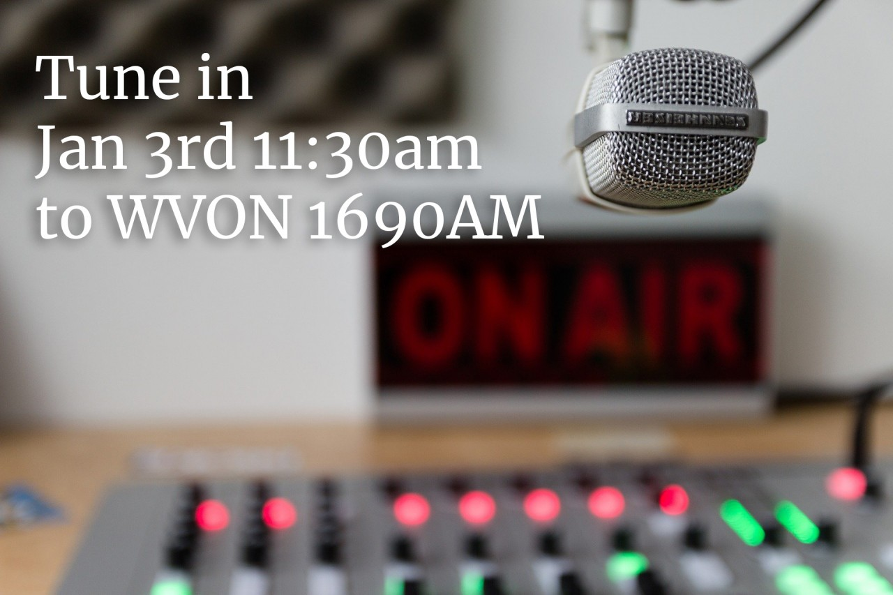 I will be on the RADIO on WVON 1690AM